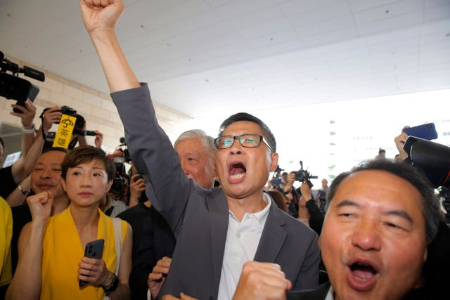 Hong Kong Umbrella Movement Trial