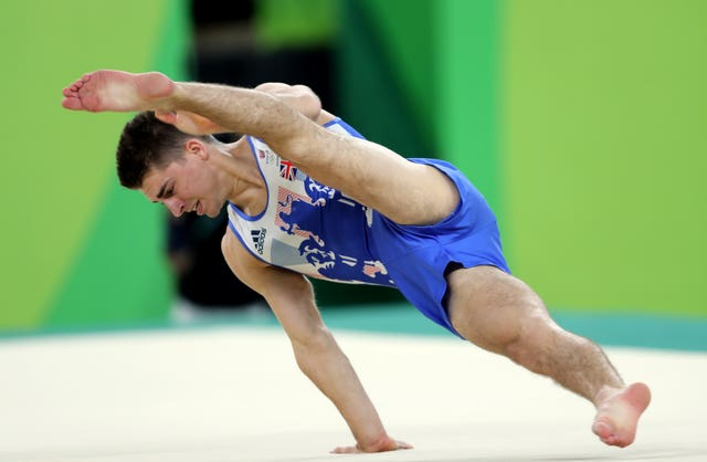Whitlock's medal on the floor ended Britain's 120-year wait for a gymnastics gold
