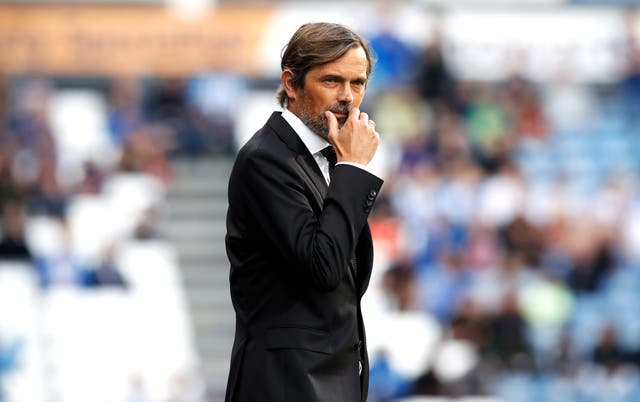 Phillip Cocu was keeping his Wayne Rooney thoughts to himself