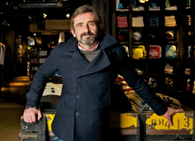 Superdry boss Julian Dunkerton