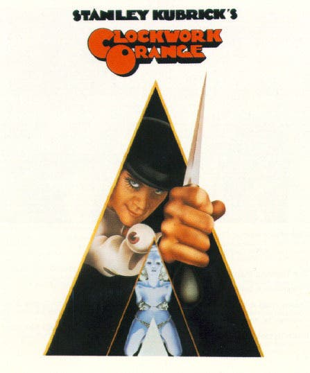 DEATH Kubrick Clockwork Orange