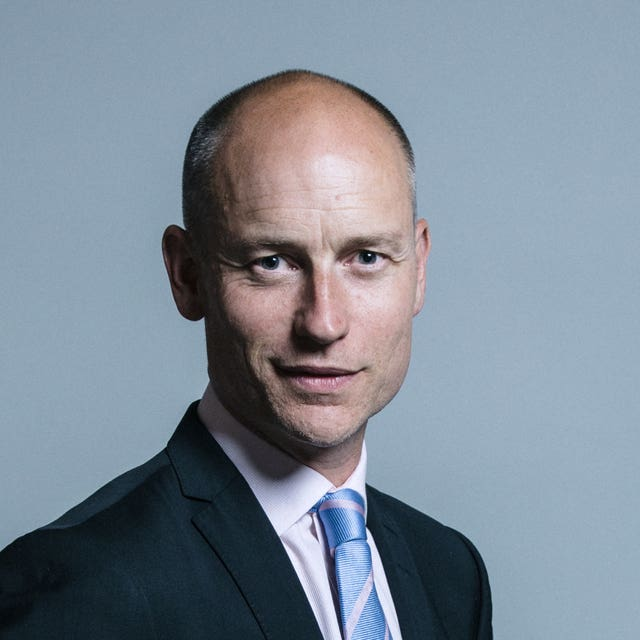 Stephen Kinnock said Theresa May had 'let down' British workers by failing to stand up to the US President (Chris McAndrew/UK Parliament/PA)
