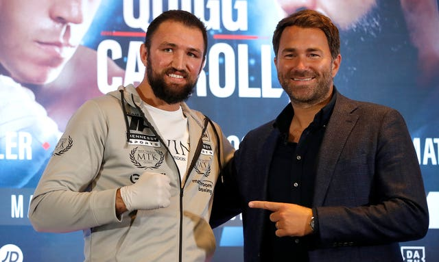 Hughie Fury lost out on points to Kubrat Pulev two years ago