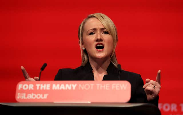 Rebecca Long-Bailey has defended Labour's position (Gareth Fuller/PA)