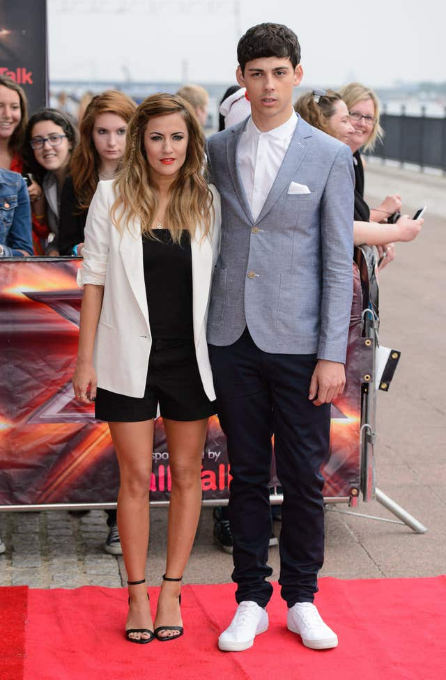 X FactoCaroline Flack and Matt Richardson