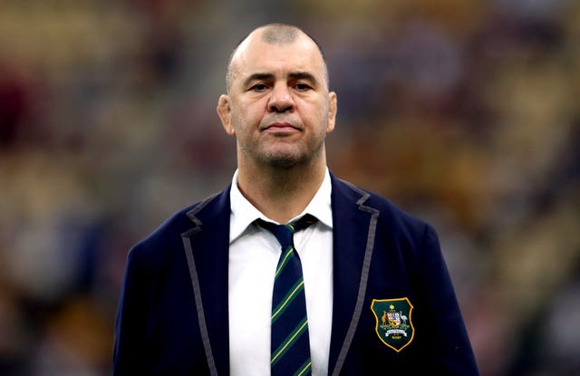 Michael Cheika had been Australia head coach since 2014 (David Davies/PA).