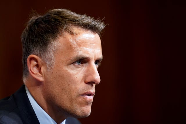Phil Neville's contract expires next summer