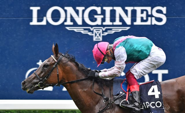 Enable has once more won the King George at Ascot