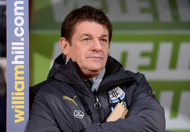 John Carver just kept Newcastle up