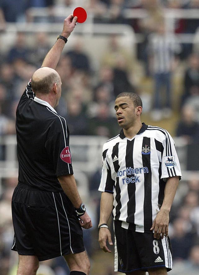 Dyer said an argument started with Bowyer complaining he never passed the ball to him (Owen Humphreys/PA).