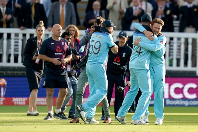 England win after the Super Over