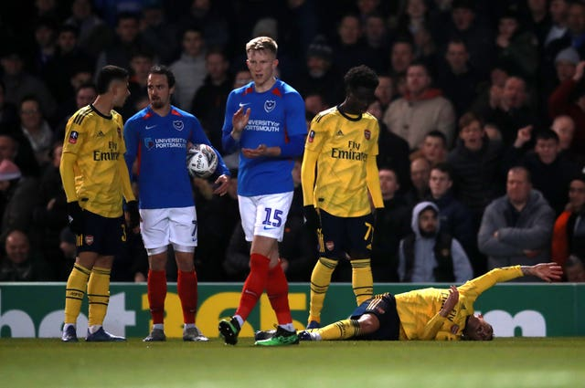 Portsmouth v Arsenal – FA Cup – Fifth Round – Fratton Park