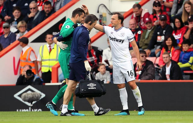 Lukasz Fabianski has been a big miss for West Ham