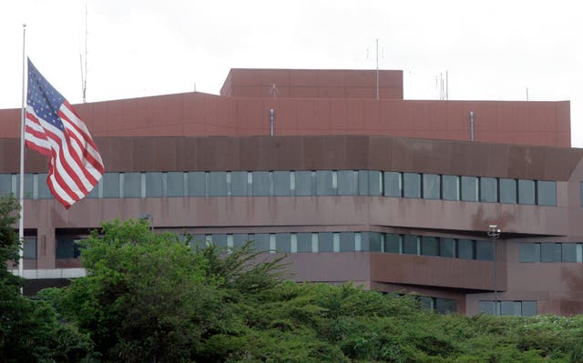 The US embassy in Caracas