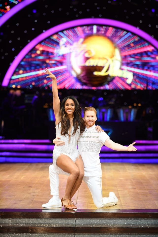 Alex Scott and Neil Jones