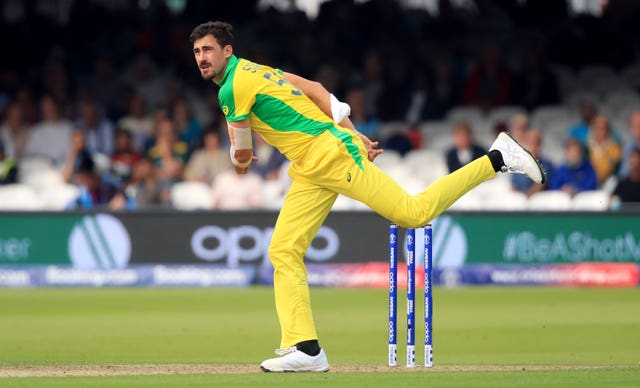 Mitchell Starc is set to represent Welsh Fire in The Hundred