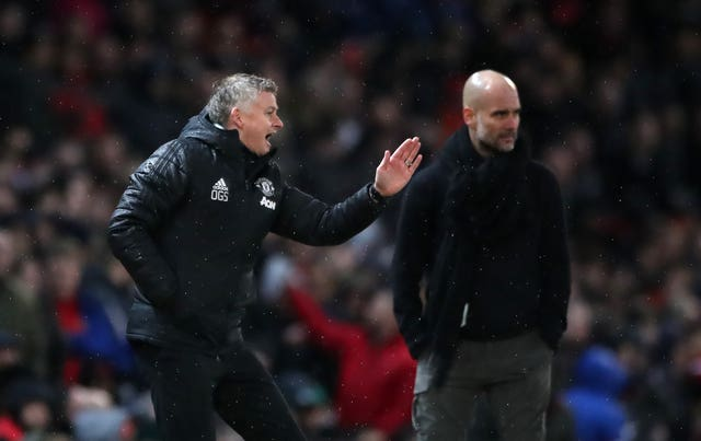 Solskjaer would not get drawn into the conversation about Pep Guardiola's club