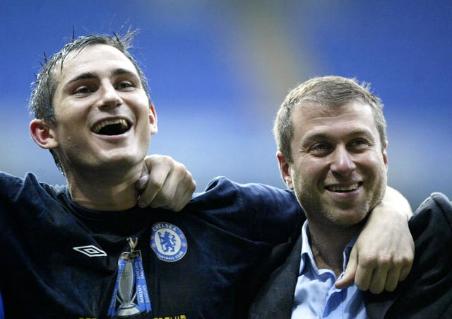 Frank Lampard could be working for Roman Abramovich again