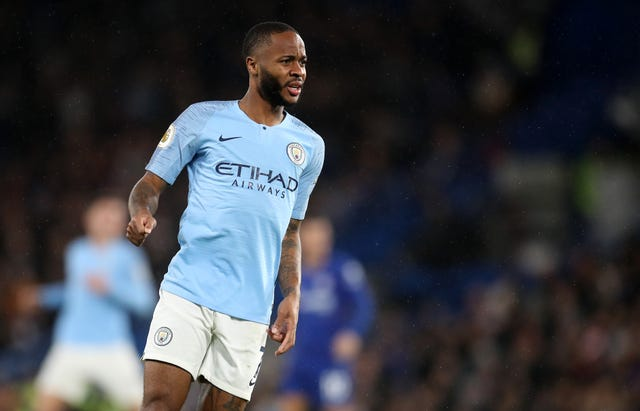 Raheem Sterling was targeted during a game between Chelsea and Manchester City in December 2018
