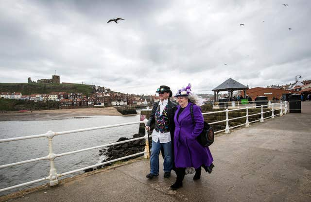 Bram Stoker found some of his inspiration for Dracula in Whitby (Danny Lawson/PA)