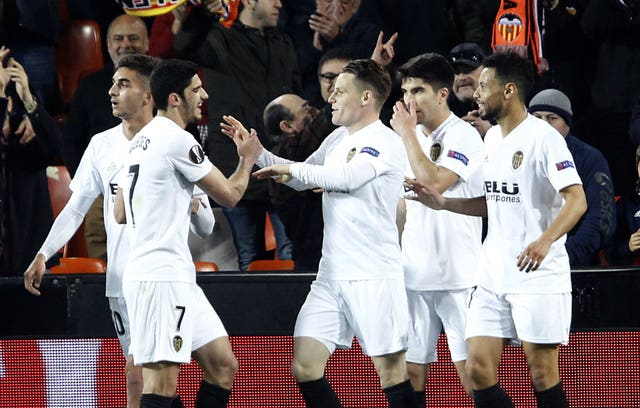 Kevin Gameiro came off the bench to net Valencia's winner