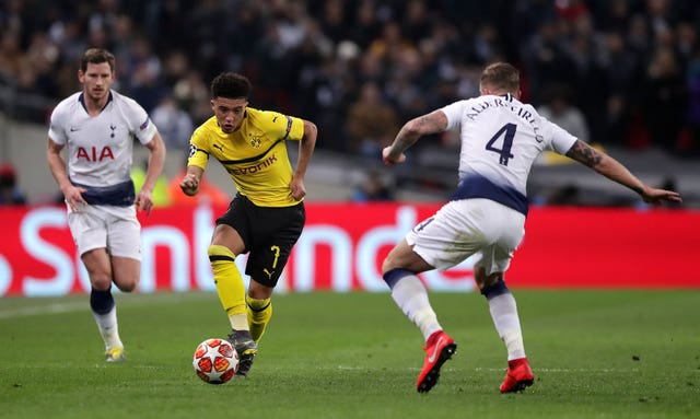 Tottenham Hotspur v Borussia Dortmund – UEFA Champions League – Round of 16 – First Leg – Wembley Stadium