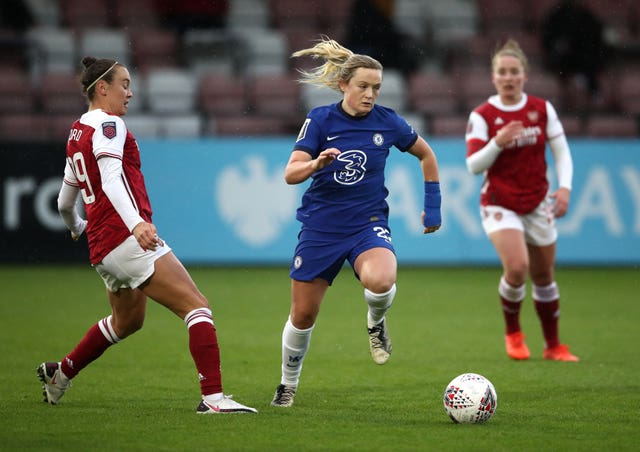 Chelsea and Arsenal Women will be able to play matches in front of spectators when they play at home