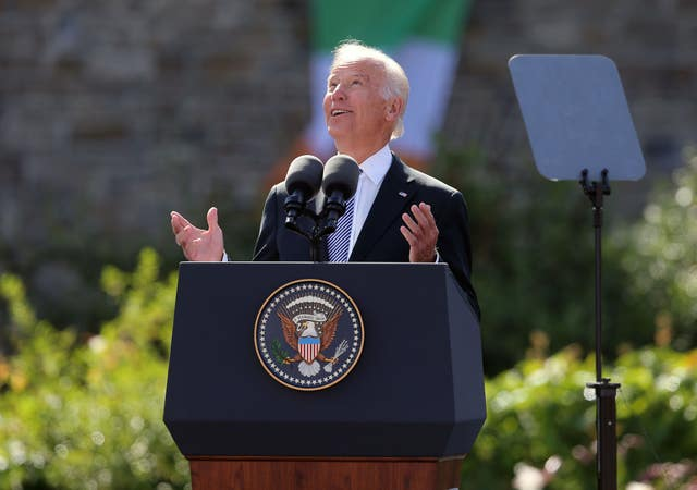 US vice president visit to Ireland