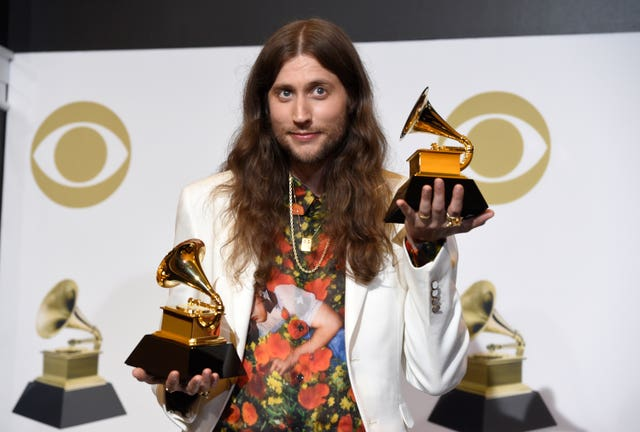 61st Annual Grammy Awards – Press Room