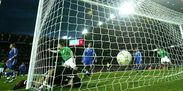 Soccer – UEFA European Championship 2008 Qualifying – Group D – Republic of Ireland v Slovakia – Croke Park