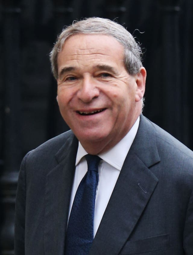 Ex-home secretary Lord Brittan died before police told his wife his name had been cleared (Chris Jackson/PA)