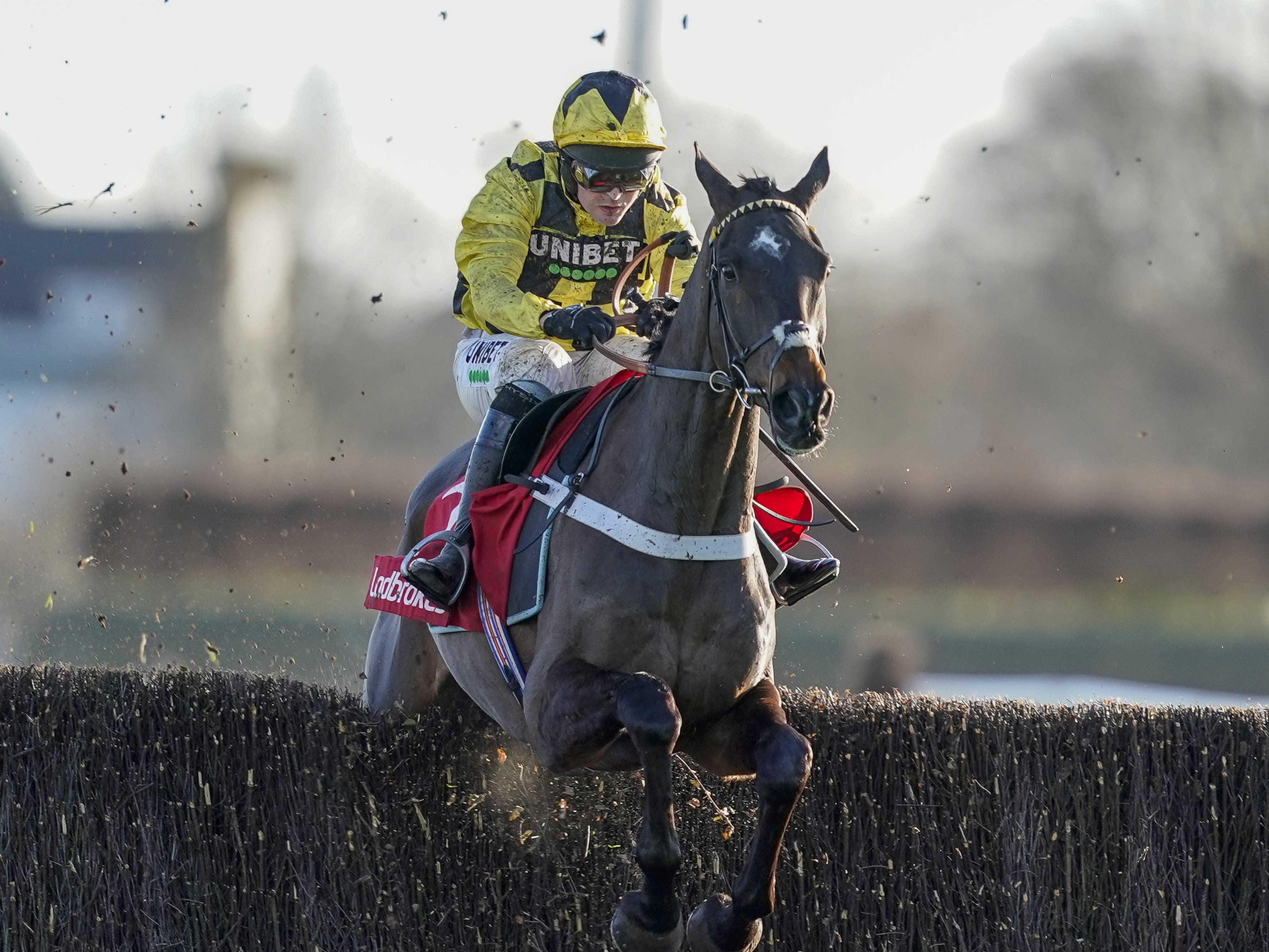 Shishkin could head to Doncaster to maintain his unbeaten record over fences (Alan Crowhurst/PA)