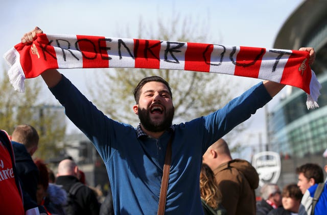 Some Arsenal supporters have been vocal against Stan Kroenke's ownership of the club.