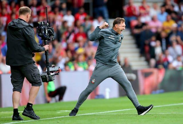 Ralph Hasenhuttl's Southampton take on Chelsea on Sunday
