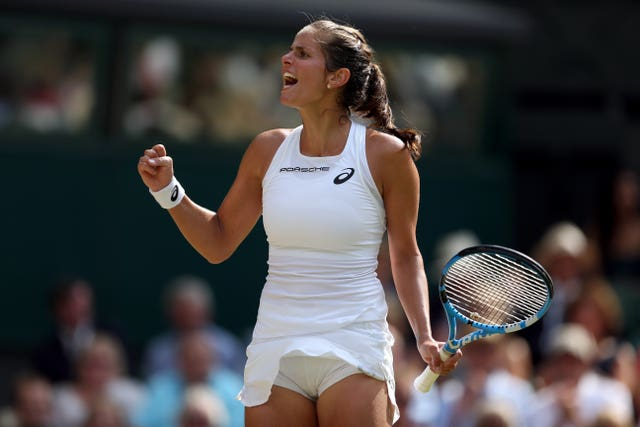 Julia Goerges is looking forward to some home comforts after her best-ever grand slam came to an end