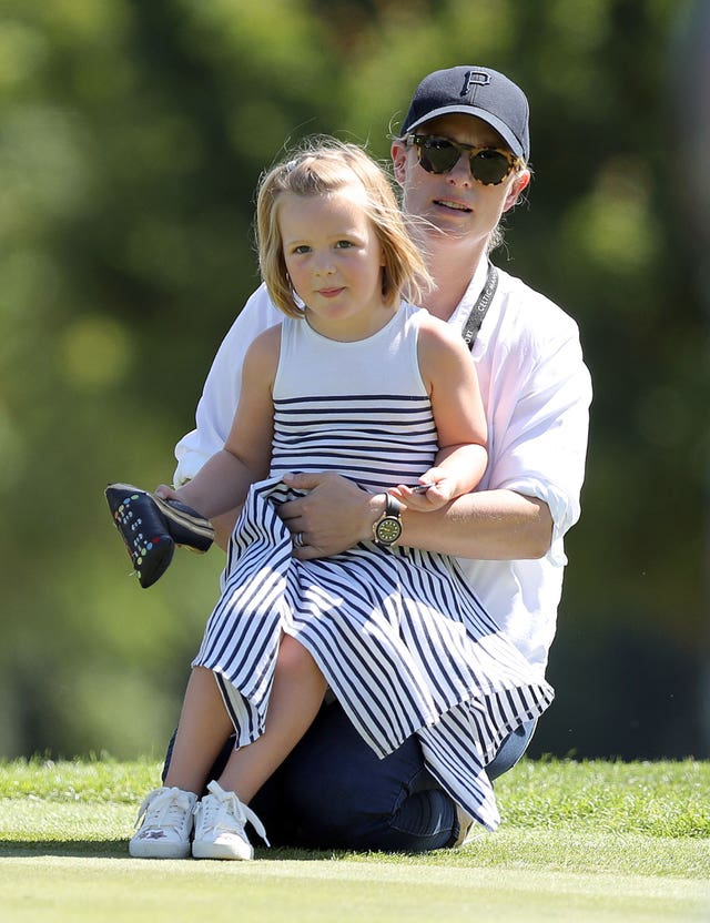 Zara and Mia Tindall
