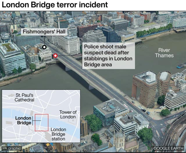 London Bridge terror incident