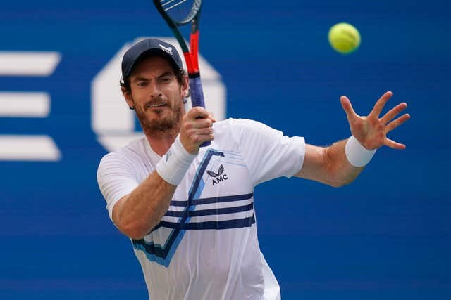 Andy Murray spoke about Raducau after his first round win at the Rennes Open (Seth Wenig/PA).