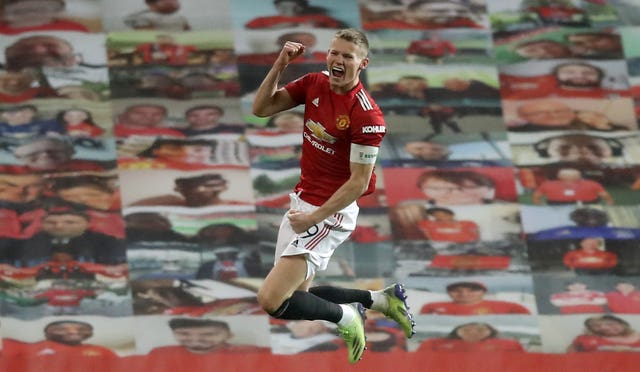 Goalscorer Scott McTominay was named Manchester United captain for the FA Cup tie