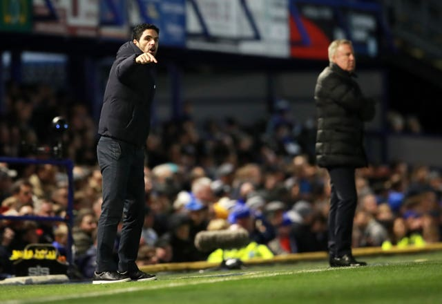 Arsenal head coach Mikel Arteta made nine changes to his team at Portsmouth.