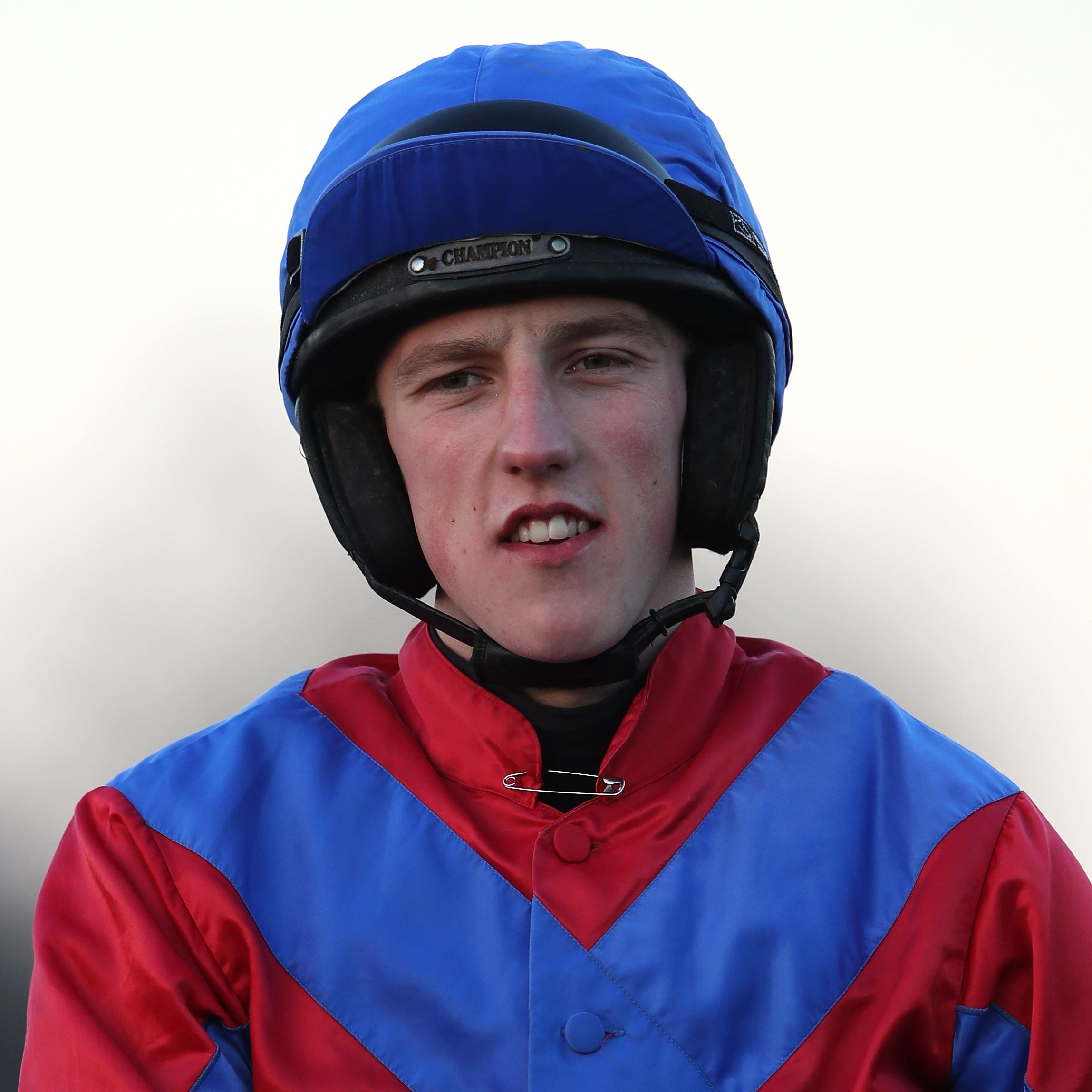 Ciaran Gethings, who partnered Classic Ben to victory at Sandown on Saturday