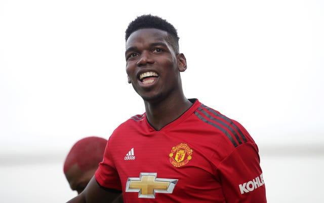 Paul Pogba scored twice at Craven Cottage