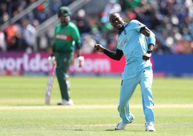 Jofra Archer is set to see some familiar faces when England meet the West Indies