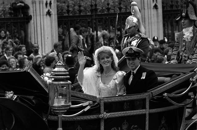 Royalty – Duke and Duchess of York Wedding – Westminster Abbey