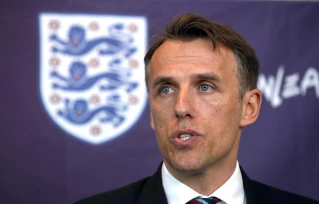 Phil Neville's England women's football team are also in World Cup action in 2019