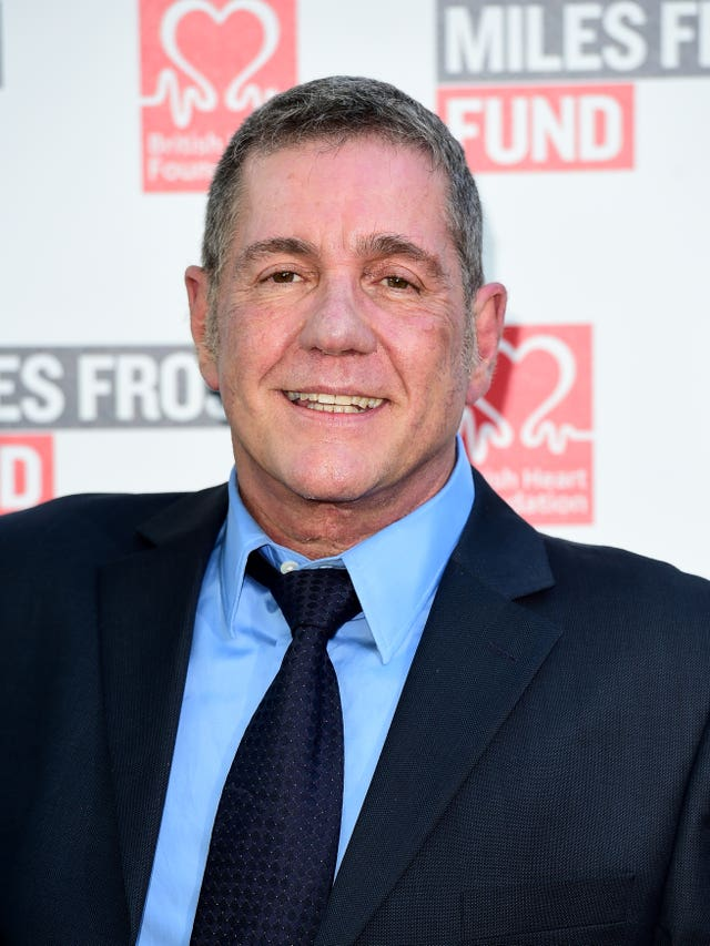 Dale Winton attending a fundraiser in London in July 2016 (Ian West/PA)