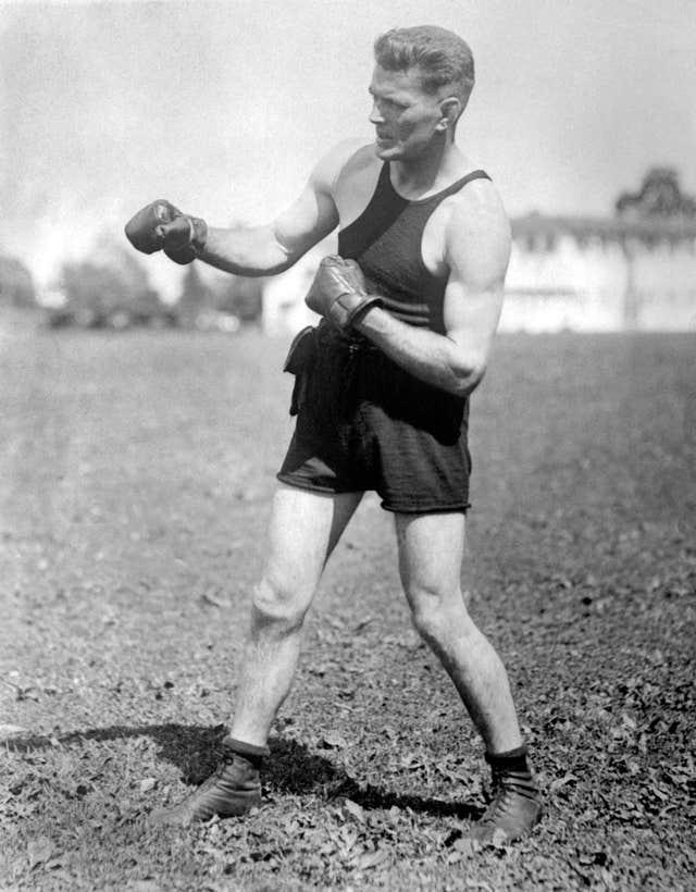 Gene Tunney, pictured, had beaten Jack Dempsey the previous year in Philadelphia