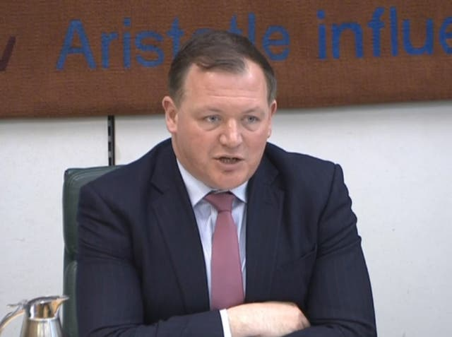 DCMS select committee chairman Damian Collins