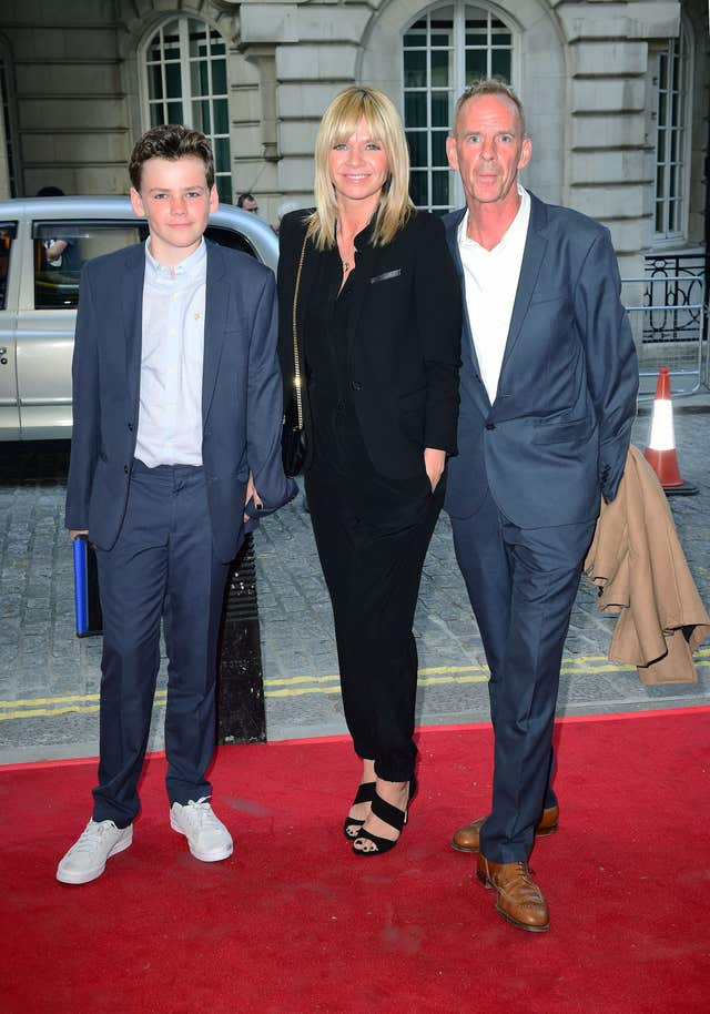 Zoe Ball, Norman Cook and Woody Cook