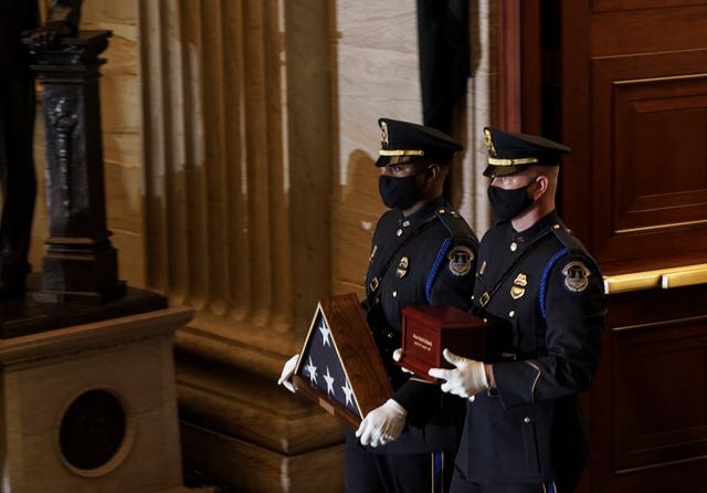 Capitol Breach Officer Killed